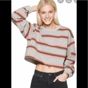 Wild fable crop top sweater
